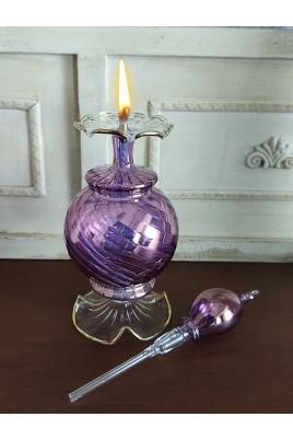 Üfleme Cam Kandil Parfüm Şi...