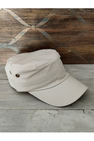 Fidel Castro Unisex Açık Bej Şapka