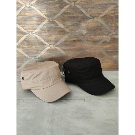 Fidel Castro Siyah ve Kum Beji 2'li Unisex Şapka