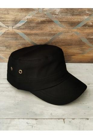 Siyah Castro Model Unisex Şapka